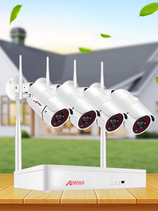 ANRAN Nvr-Kit Camera-Set Video-Surveillance-Kit Wifi CCTV Night-Vision IP Security Wireless-System