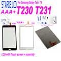 STARDE samsung LCD Galaxy Tab 4 7.0 inç T230 SM-T230 T231 SM-T231 lcd ekran dokunmatik ekran digitizer araçları ile