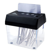 Mini Electric Shredder Portable Paper Shredder USB Battery Operated Shredder Documents Paper Cutting Tool for Home Office