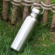 Universal Thermocup Stainless Steel Thermos Bottle Outdoor Vacuum Insulation Water Bottle 500ML/750ML 500ml outdoor camping bicycle stainless steel vacuum preservation water bottle