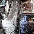 E-FOUR упаковка 50 автомобилей одноразовые пластиковые чехлы для сидений автомобиля протектор механик УСЛУГИ АВТО заменяемый чистый Пластик р...