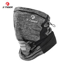 X-TIGER Summer Cycling Face Mask Ourdoor Hiking Camping Running Bike Bandana Ice Fabric Breathable Bicycle Face Scarf Headband