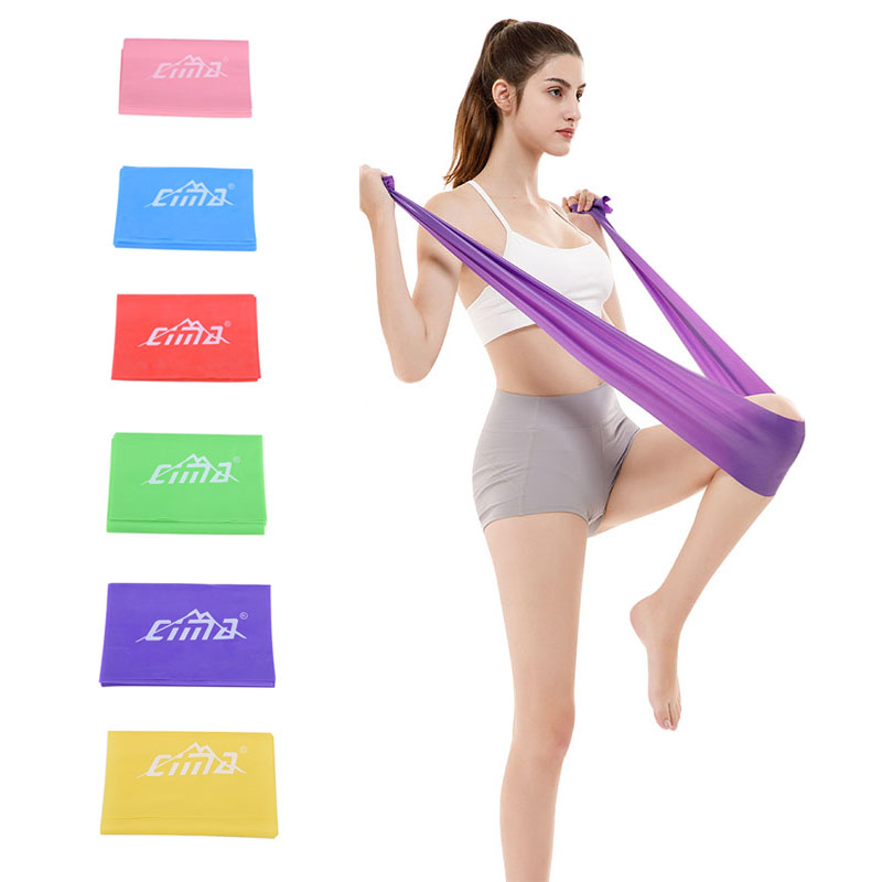 Gym Fitness Yoga Strength Training Women Latex Elastic Pull Up Resistance Loop Exercise Bands Workout Rubber Sport Equipment