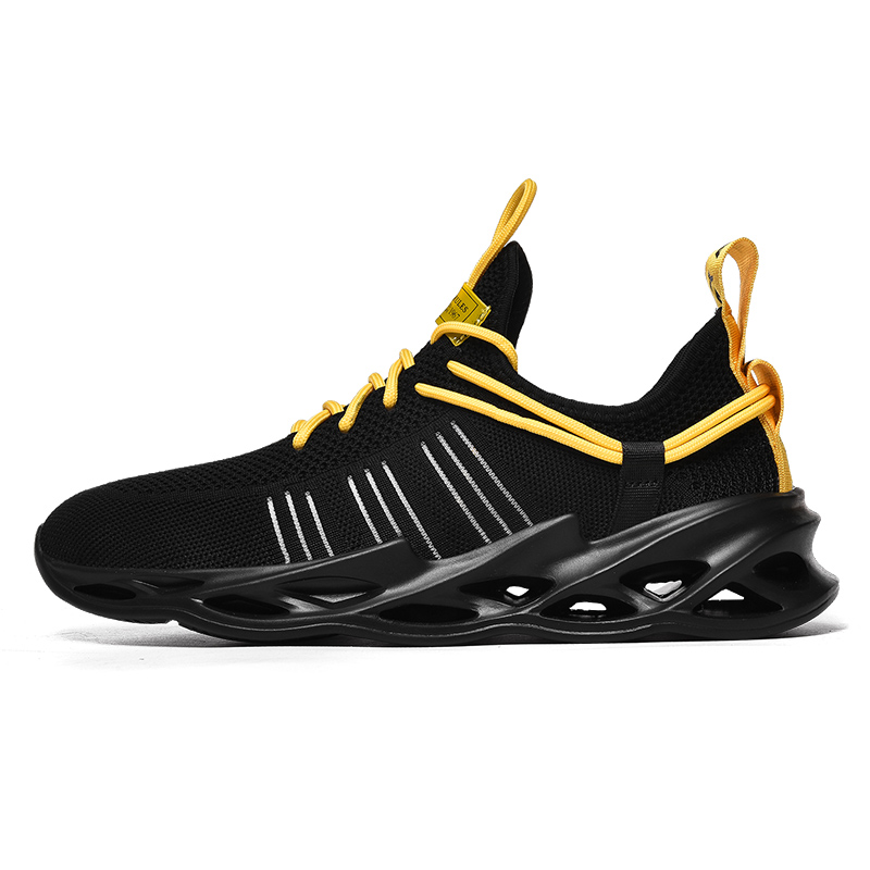 G157 Black-Couples Sneakers Casual Breathable Comfortable Sport Running Shoes