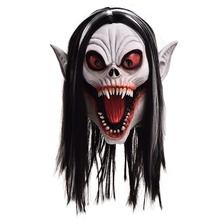 Morbius Mask Anime Masks Morbius the Living Vampire Latex Mascaras Cosplay Mascarillas Halloween Vampires Costumes Face Masques