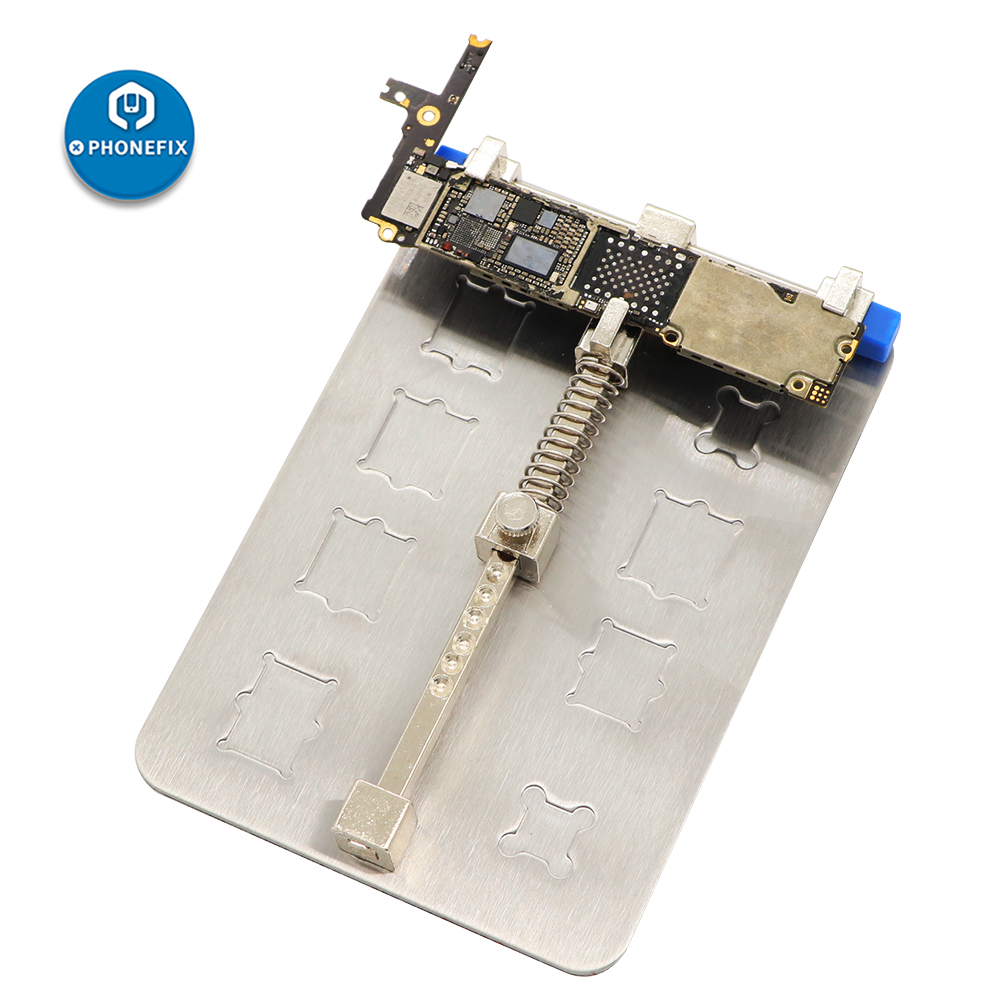 PHONEFIX Professional Motherboard Holder Fixture PCB Jig Fixture Soldering Work Platform For IPhone Repair Tool