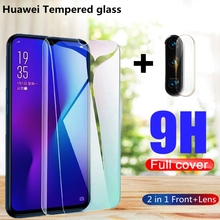 2 in 1 Full Cover HD Tempered Glass for Huawei P20 P30 P20 Pro P30-Lite Honor 8X 9X 9X-Pro 10 20 Lite 10i 20i Screen Protector 2 in 1 full cover 9d tempered glass for huawei honor 9x 9x pro 8x 8a 8c 8s v20 v30 10 20 10i 20i 10 20 lite screen protector
