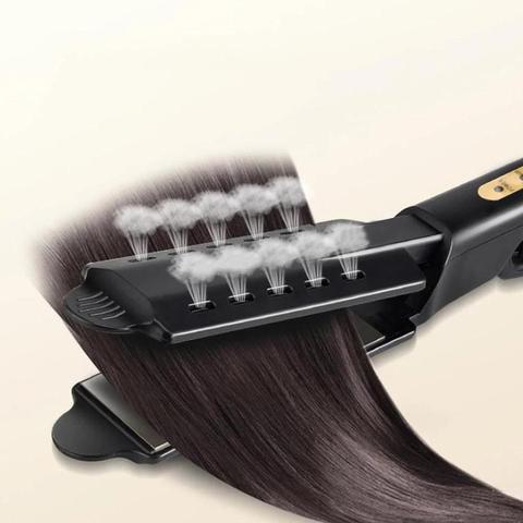 alisador de cabelo quatro engrenagem ajuste temperatura