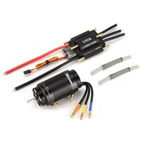 SURPASSHOBBY 4 Poles 4092 1250KV Brushless Motor with 40 L Water Cooling Jacket 160A ESC for 1000mm RC Boat Model Parts