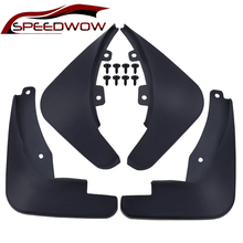 SPEEDWOW 4Pcs Car Front Rear Mudguard Splash Guards Fender Mudflaps For Vauxhall Opel Astra J/Buick Verano 2010-2016 Car Parts