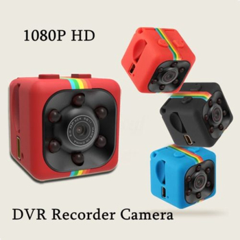 Mini SQ11 Full HD 1080P DV Sport Action Micro Camera DVR Video Recorder Camcorder  Mini Camera  Sensor Night Vision Camcorder 4g card sq11 tiny dv camera 1080p hd video recorder mini screw cam dvr camcorder