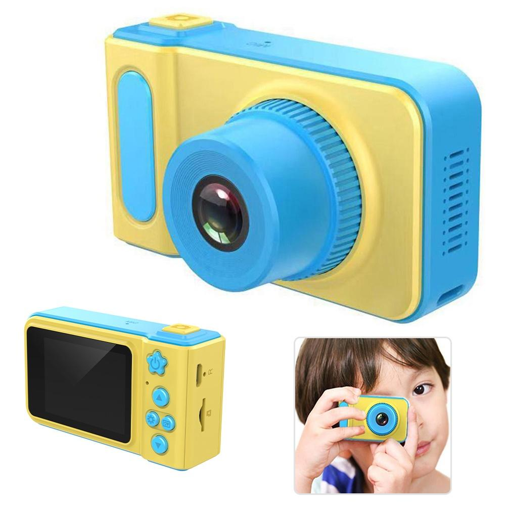 2020 Cute 2inch Display Screen Mini Digital Video Recording Camera Travel Game Kids Educational Toys For Children Gift