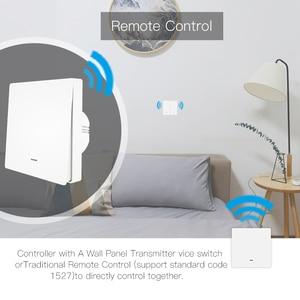 Image 2 - WIFI Smart Wall Light SWITCH RF433 เครื่องส่งสัญญาณ PUSH Button Smart Life Tuya APP รีโมทคอนโทรลทำงานร่วมกับ Alexa Google Home