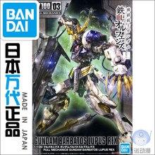 Bandai – figurines de robots animés, modèle Gundam, en Stock, collection 56827 TV 03 1/100, jouets, cadeau