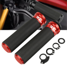 For Kawasaki z900rs 2018 7/8 22mm Motorcycle knobs Anti-Skid Handle ends Grips Bar Hand Handlebar With 900RS LOGO