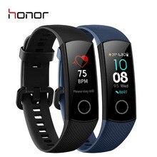 "HONOR Band 4 Smart Wristband Fitness Bracelet 0.95"" Color AMOLED Touchscreen  5 ATM  Swim Posture Heart Rate Sleep Snap"