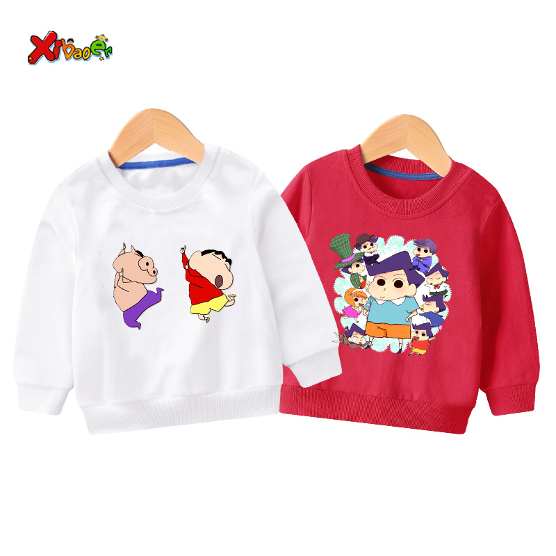 Toddler Baby Boys Sweatshirt funny Kids Pullover hoodies sport Clothes Toddlers Clothing Casual Print O-Neck Long Sleeve2 years