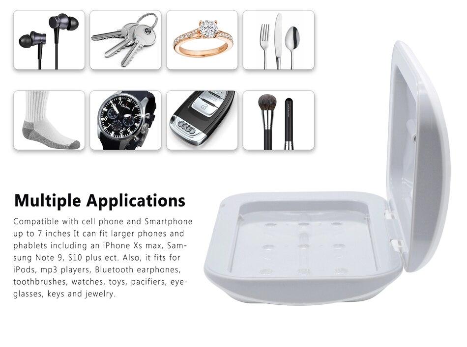 Antibacterial UV Sanitizer Box