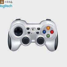 Youpin Logitech F710 podwójna wibracja 2.4G bezprzewodowy pad do gier Joystick Joypad ręczny kontroler gier do piłki nożnej gry zręcznościowe