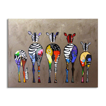 100% Hand Painted horse Oil Painting On Canvas Modern Animals Paintings Wall Art Picture Wall Decor MA-01G