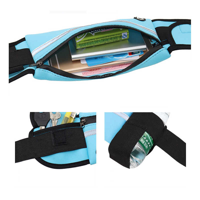 Banana bags belt sport race bag for men and women