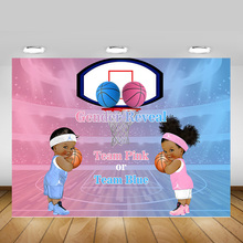 Basketball Gender Reveal Party Background Decoration Sports