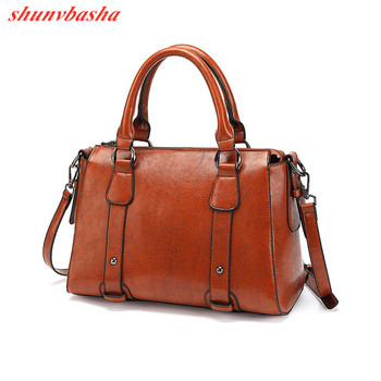 100% Genuine leather Women handbags Cow Leather Bag Ladies Genuine Leather Handbags Big Women Bags Large Vintage Female  Office 1