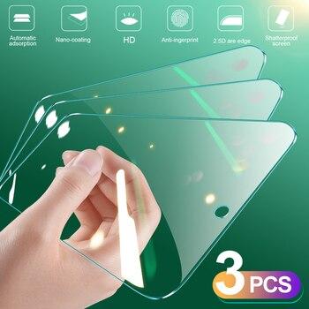 Перейти на Алиэкспресс и купить 3 шт. полное покрытие закаленное стекло для Huawei P20 Pro P30 P40 Lite E защита экрана Защитное стекло для Huawei Mate 30 20 Lite
