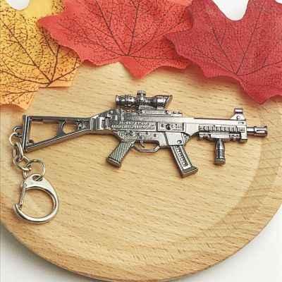 YANHONG ornamentos jedis Escape Awmakm98K modelo de arma colgador teclado comer pollo juego periférico