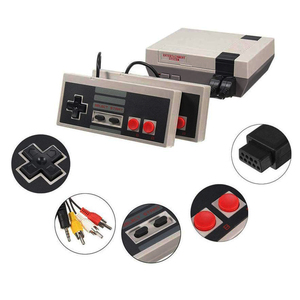 Image 4 - Video Gaming Childhood Console Controller Tetris 8Bit Classic Retro NES TV Game AV Port Built in 620 Games Dual Game Handle Gift