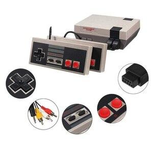 Image 4 - Video oyun çocukluk konsol denetleyici Tetris 8Bit klasik Retro NES TV oyun AV bağlantı noktası dahili 620 oyunları çift oyun kolu hediye
