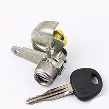 цена на Car Accessories Left Side Door Lock Set Key for Hyundai Elantra Modified Car Door LOCK Cylinder With 1 Key Locksmith Tool