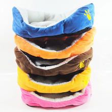 SILIKOLOVE 3 Colors Cotton Waterproof Soft Dog Bed Washable Pet Puppy Dog Breathable Handwash cushion Dog Beds & Mats(China)