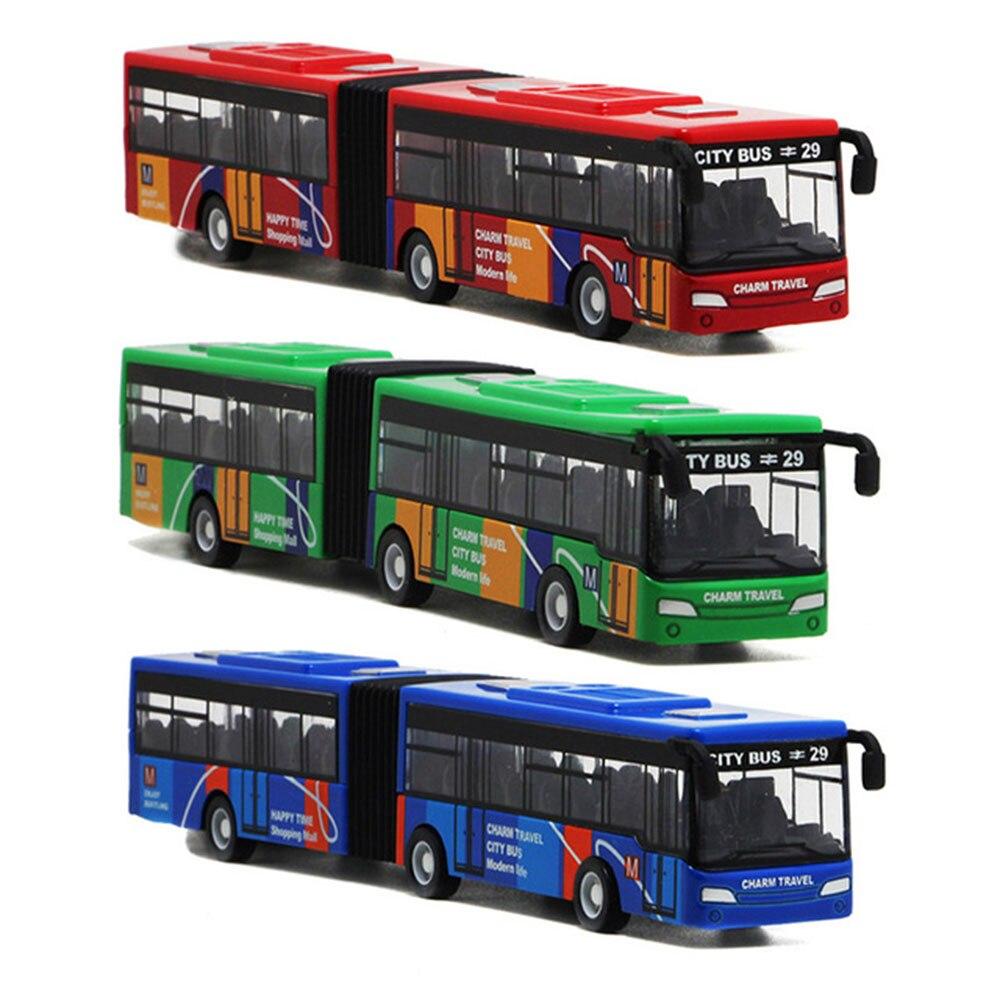 Модель автобуса сплав игрушечный автобус коллекция игрушечная машинка из сплава Карманный многоцветный милый 1 набор стол