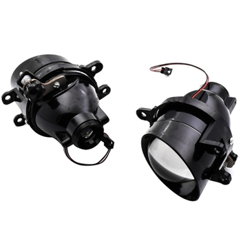 3.0 Inch Waterproof Bi-Xenon Fog Lights Lens Lamps Without Light Bulb H11 Xenon for Toyota/Corolla/Camry/Lexus Cars Retrofit R