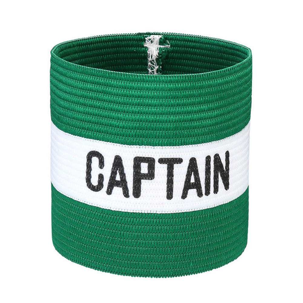 Elastic Leader Competition Football Rugby Hockey Strong Stickiness Playground Conspicuous Symbol Sleeve Badge Captain Armband