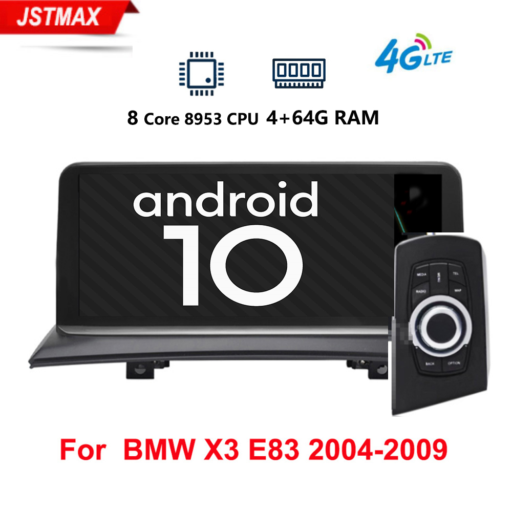 IPS Android 10.0 car multimedia player gps navigation Radio for BMW X3 E83 2004-2010 Original car without screen 4GB+64GB 4G LTE image
