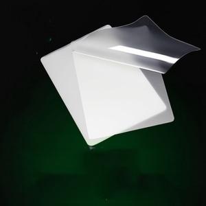 Image 4 - 100 ピース/ロット 50 マイク、 a4 熱ラミネートフィルムペット用/ファイル/カード/写真積層ロールフィルムプラスチックフィルム Plastifieuse