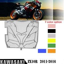 Решетка радиатора из нержавеющей стали, решетка для гриля, защита охлаждающей жидкости для 2011-2016 Kawasaki ZX10R ZX10-R 2012 2013 20142015
