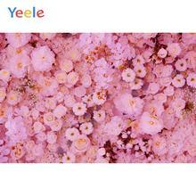 Yeele festa de casamento fotochamada rosas decorações de parede ins backdrops fotografia personalizado fundos fotográficos para estúdio de fotos