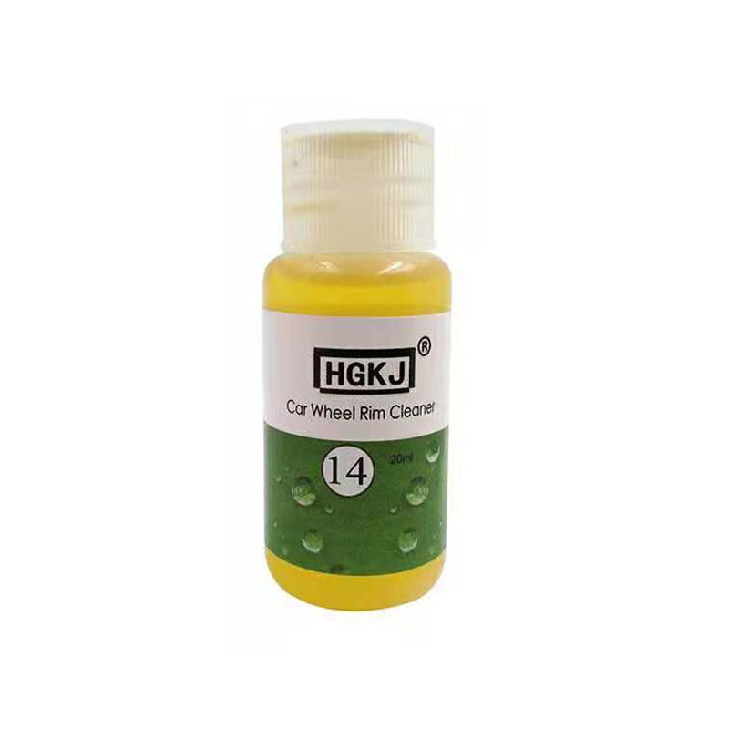 HGKJ 14  20 50ml Car Whee Rust Removal Cleaner Rim Cleaning Agent High Concentration Liquid Dropship