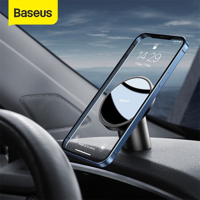 Baseus magnétique voiture Support de téléphone évent universel pour iPhone 12 Pro Smartphone voiture Support de téléphone Support pince Support de montage