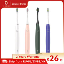 1111VENTE3 11RAPIDE3 3EUR Off Original Oclean Air 2 brosse à dents électrique sonique IPX7 brosse intelligente chargeant trois Modes de brossage pour adulte étanche