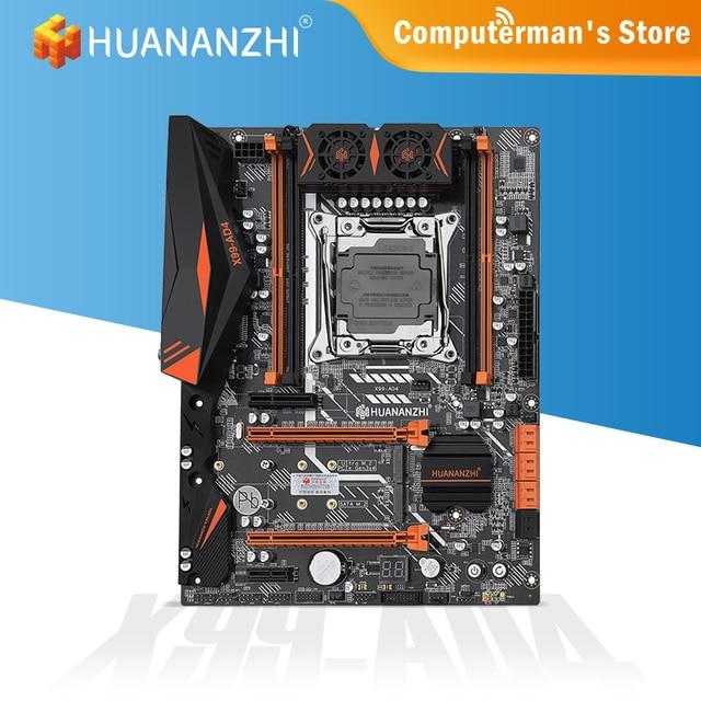HUANANZHI X99 AD4 X99 Motherboard Intel XEON E5 LGA2011-3 All Series DDR4 RECC Non-ECC Memory supports NVME NGFF Workstation