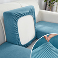WaterProof protector sofa cushion cover Corner sofa seat cushion slipcover elastic solid color couch cover