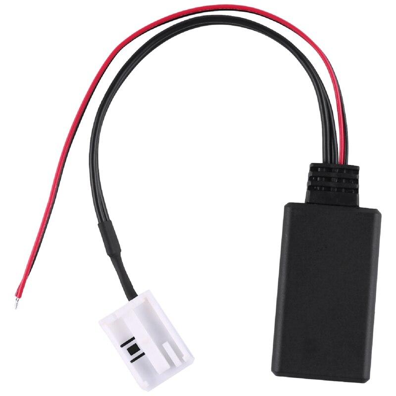 Bluetooth аудио адаптер кабель для V-W Mcd Rns 510 Rcd 200 210 310 500 510 Delta 6 Автомобильные аксессуары для электроники
