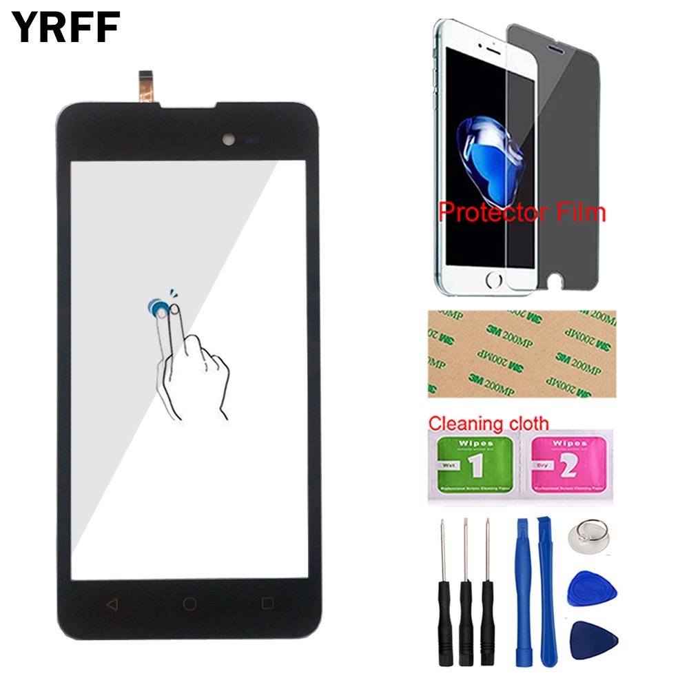 Phone Touch Screen Panel For Wiko Sunny 2 Plus Touch Screen Digitizer Panel Touchscreen Front Glass Panel Protector Film Tools