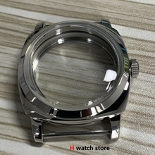 Watch-Case Seagull ST3600 47mm Movement 6497/6498 Glass 316L for ETA Seagull/St3600/St3620/Movement