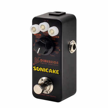 SONICAKE 5th Dimension Digital Modulation Effects Pedal w/h 11 Effects of Phaser,Flanger,Chorus,Tremolo,Vibrato,Autowah Sampling - DISCOUNT ITEM  38% OFF Sports & Entertainment