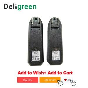 Image 5 - Универсальное зарядное устройство Deligreen 18650, литий ионное перезаряжаемое умное зарядное устройство для 14500 ,16340 батарей, 1 шт., вилка для США и ЕС